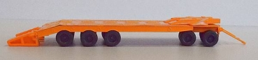 Tiefladetransporter P50, orange
