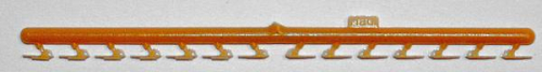 Hemmschuhe orange, 14 Stück
